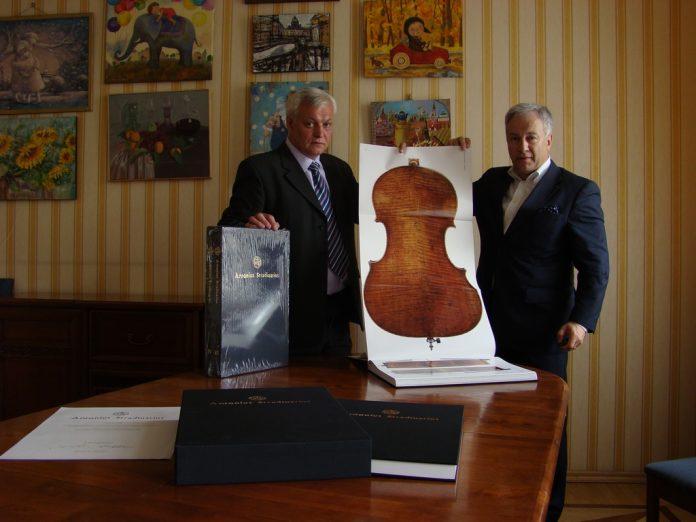 Buch Stradivarius PR